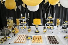 Yellow themed party