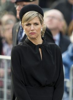 Queen Máxima at the Remembrance of the Dead ceremony at the National Monument on Dam Square in Amsterdam.