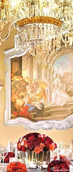 Ballroom Palazzo Della Gherardesca at the Four Seasons Florence  — Très Haute Diva