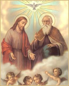 The Holy Trinity - One God in Three Divine Persons: Father, Son and Holy Spirit