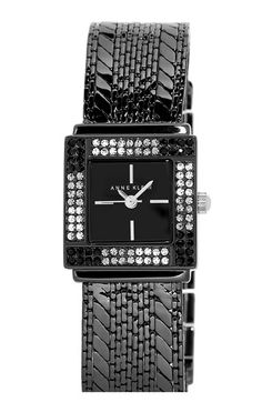 Anne+Klein+Square+Bracelet+Watch,+22mm+x+27mm+available+at+#Nordstrom
