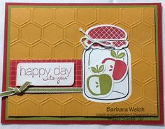 Barbara Welch, CreativeStampinSpot.blogspot.com CQS Swap Card