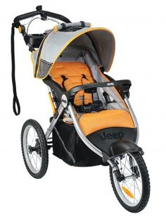 only $190 for a running stroller that tracks your stats.
