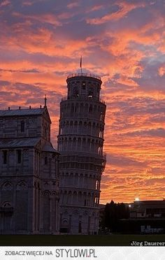 leaning tower of pisa na Stylowi.pl