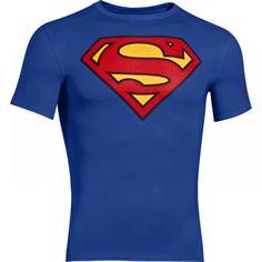 Pánské kompresní tričko Under Armour Alter Ego Superman