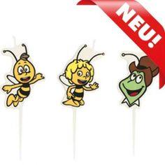 Biene Maja Kindergeburtstag Kuchenkerzen