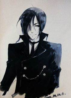 Sebastian Michaelis | Black Butler | Kuroshitsuji | ♤ #anime ♤