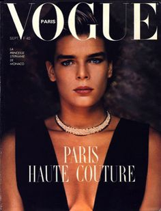 French vogue Cover - September 1986