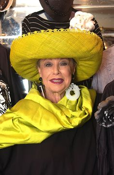 Lynn Dell believes living is a party to be enjoyed and she dresses every dayas if she was invited to the biggest and best of them.