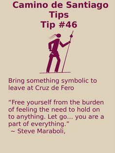 Camino Tip No. 46: Bring something symbolic to leave at Cruz de Fero
