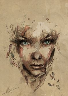 Crystal | Mario Alba  pinned with Bazaart