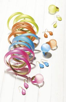 Jewelry from Alexis Bittar available at #Nordstrom.  Looks like spring!