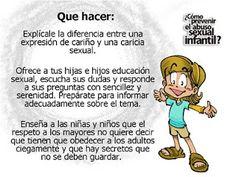 Buenos consejos contra el abuso sexual http://comicontraelabusosexualinfantil.blogspot.com.es/2011/09/como-prevenir-el-abuso-sexual-infantil.html