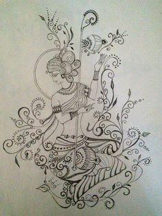 Saraswati, Hindu Goddess of knowledge