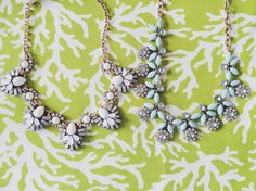 Preppy statement necklace for spring and summer! #preppy #accessories #preppyaccessories
