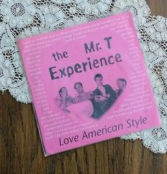 """The Mr. T Experience Love American Style 7"""" EP Lookout! Records 1991"""