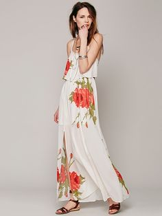 Free People Fly Away Rose Dress at Free People Clothing Boutique