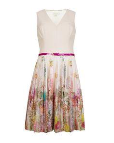 Wispy meadow print dress - Light Pink   Dresses   Ted Baker