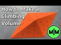 How to build a Roof Shaped Climbing Volume - Southern Boulder - Adelaide Bouldering Gym - YouTube