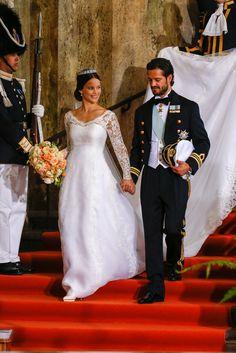 Princess Sofia of Sweden Wedding Dress | POPSUGAR Fashion