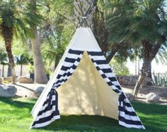 Ready to ship XL 8ft party teepee with overlapping by TucsonTeepee