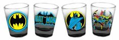DC Comics Batman Collage Set of 4 Cocktail Shot Glasses by Classic Imports, http://www.amazon.com/dp/B00AWY73NQ/ref=cm_sw_r_pi_dp_mVJ0rb0PV99J7