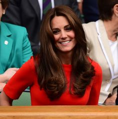 Kate Middleton and Prince William in the Royal Box