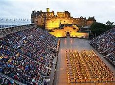 The Royal Edinburgh Military Tattoo, Edinburgh ~ Tattoo pipers, fiddlers and dancers perform on the esplanade of Edinburgh Castle in the capital of Scotland. The event is held each August as part of the Edinburgh Festival. Military musical spectacular filled with talented performers, pipes, drums, and visual lights and fireworks. Edinburgh Military Tattoo, Tattoo Edinburgh, Norse Tattoo, Viking Tattoos, Shoulder Armor Tattoo, Tattoo Prices, Edinburgh Festival, Warrior Tattoos, Military Tattoos