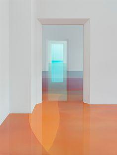 Figure internationale dans son domaine, Zimmermann transforme une salle de musée en œuvre d'art.  Cet artiste allemand, originaire de Fribourg,...