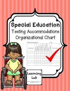 Keep track of your entire special education caseload's testing accommodations in one place!