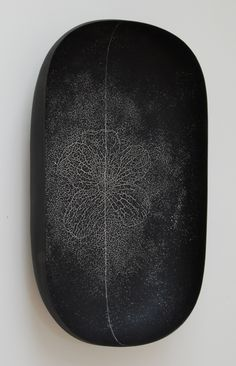 "Steven Heinemann  |  ""Carbon Neutral"" (2009), ceramic, multiple firings (85x50x17cm)."