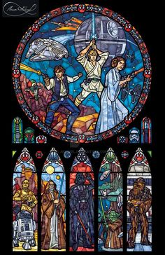BUY GET 1 FREE! Star Wars Stained Glass 030 Cross Stitch Pattern Counted Cross Stitch Chart, Pdf -->> Link in description to get your wires! Nave Star Wars, Star Wars Film, Star Wars Art, Star Trek, Star Wars Love, Star War 3, Star Wars Stuff, Star Wars Comics, Kino Snacks