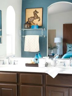 Low Doses of Color- try a bold color in a small room.