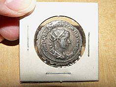 Roman Silver Coin Gordian Iii Ad Graded Xf Sleeve W/card Env Silver Investing, Coin Dealers, Buy Gold And Silver, Metal Detector, Coin Collecting, Silver Coins, Precious Metals, At Least, Mint