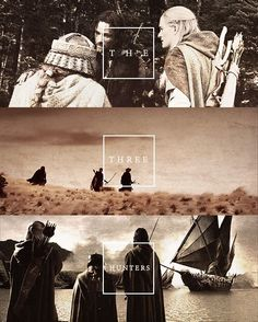 Aragorn, Legolas, and Gimli the greatest book characters of all time. Though I love the depth of each character in LotR, these three are amazing and have a story that brings me to tears.