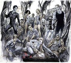 True Blood... as interpreted by J. Scott Campbell