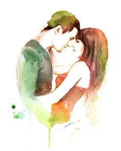 famous romantic paintings of couples - Google zoeken