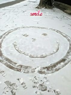 Keep calm and just smile!