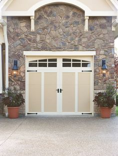 Steel With Composite Overlay Carriage House Doors
