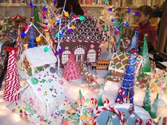 gingerbread | Capitol Hill Library Creates Gingerbread Village