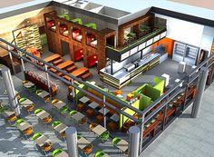 Modern Coffee Shop Interior Design Ideas