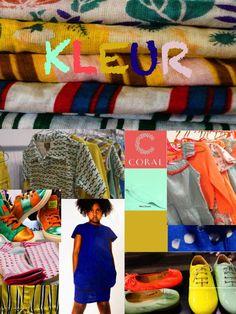 Summer colors 2014 playtime paris & kleine fabriek Kids fashion #kindermode
