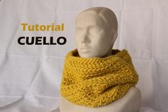 Tutorial de un cuello grueso fácil y rápido [tejer a ganchillo. crochet]