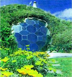 Unusual Places Around the World !!!! (10+ Pics), Multistory underground dome home.