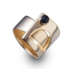 Adjustable  arc Gate gold Ring FREE SHIPPING on Etsy, $120.00