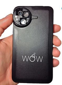 Wow iPhone Lens...this case adds 4 extra camera lenses to your iPhone