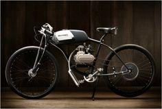 Motorized Bike with Springer Fork And Sturmey Drum Brake