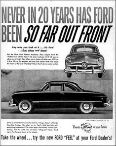 1949 Ford Coupe Ad