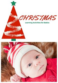 Explore the colors and sounds of Christmas with your baby with these simple, easy to prepare learning activities. Baby Christmas Activities - Sights and Sounds in a Bottle Safety Note: This Baby Christmas Activity Baby Christmas Activities, Babies First Christmas, Christmas Baby, Christmas Ideas, Christmas Time, Motor Activities, Infant Activities, Preschool Activities, Baby Play
