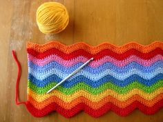 crochet ripple - inspiration